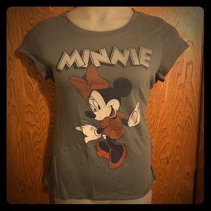 Disney Vintage Look Minnie Mouse Licensed Tee